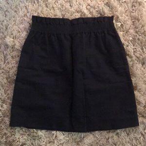 J. Crew Factory Sidewalk Skirt, Navy Blue, Size 6